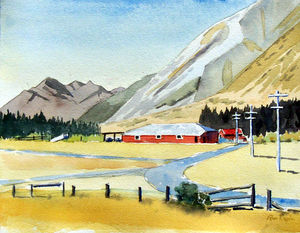 Red Barn Flock Hill SOLD