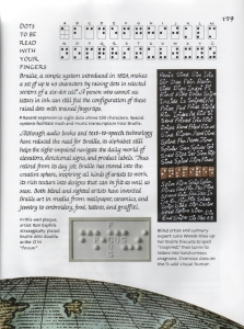 American Calligraphy expert includes Ron Esplin tactile artwork in her new book