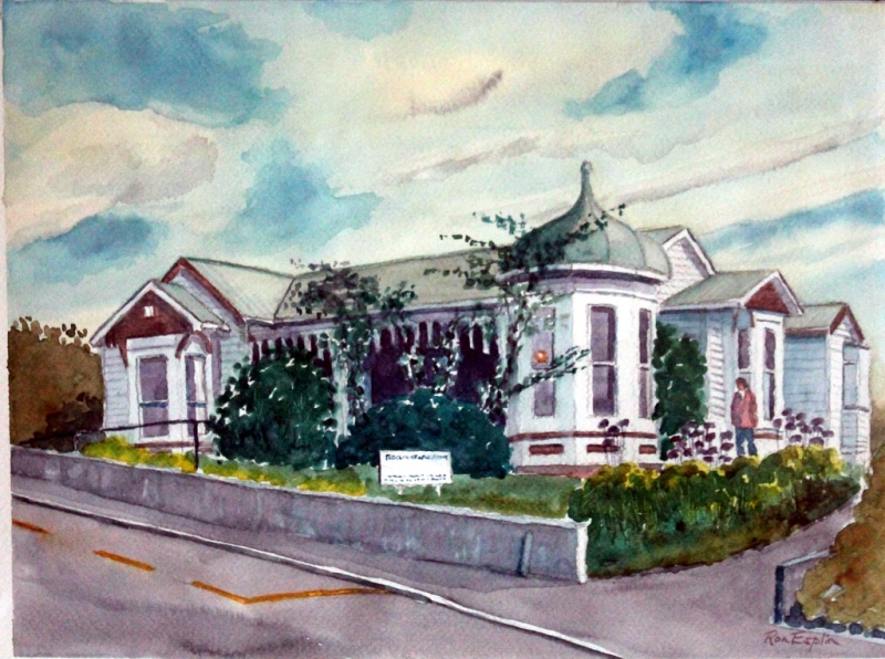 Roslyn Health Centre painting