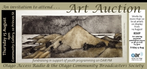 Otago Access Radio Art Auction